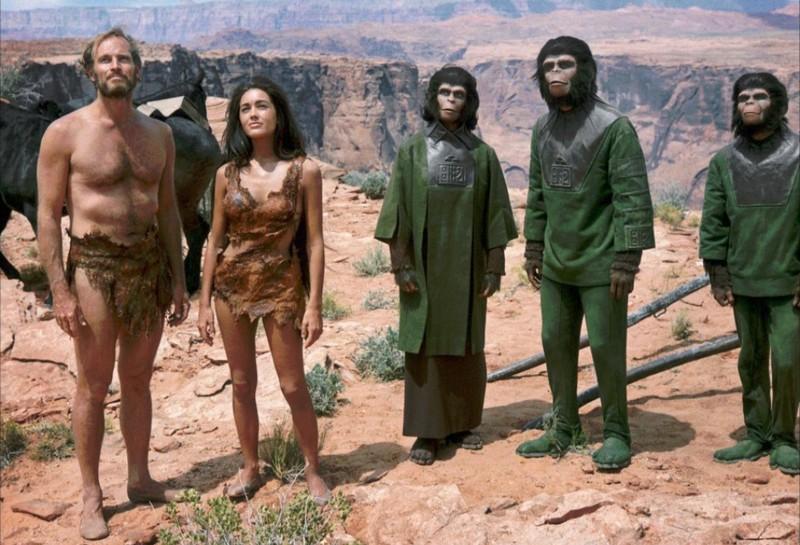 La planète des singes photo 2