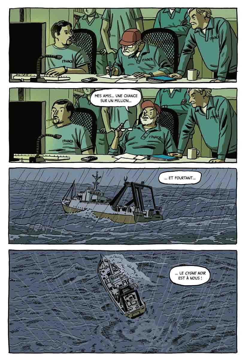 Le Trésor du Cygne noir - Paco Roca & Guillermo Corral