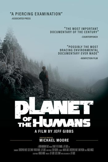 planet of humans affiche