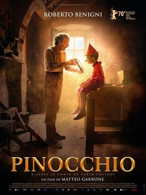 pinocchio matteo garrone affiche