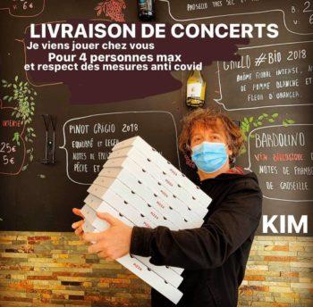 KIM livraison de concerts