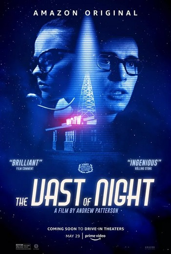 The_Vast_of_Night. affiche