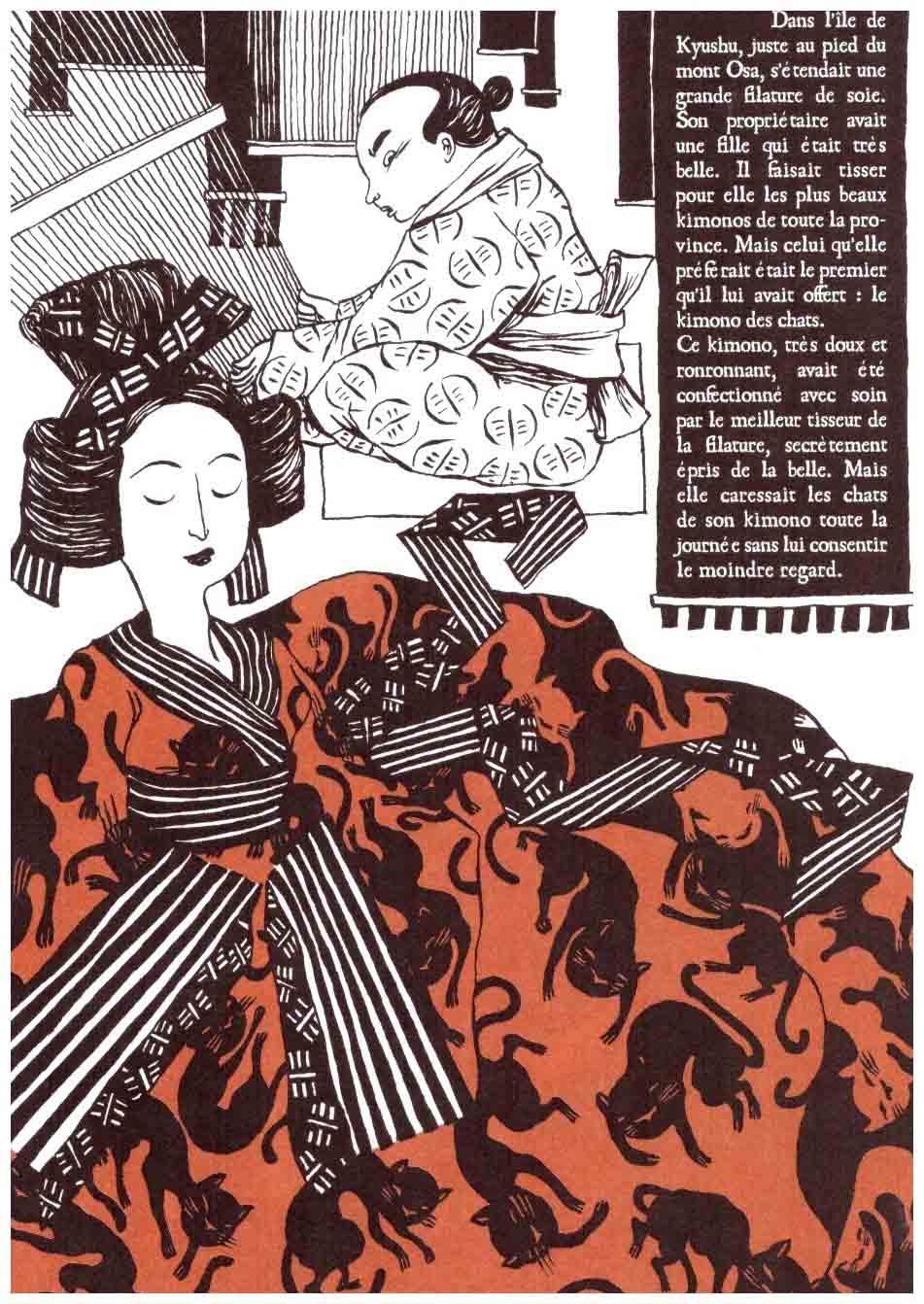 Le Chat du kimono – Nancy Peňa