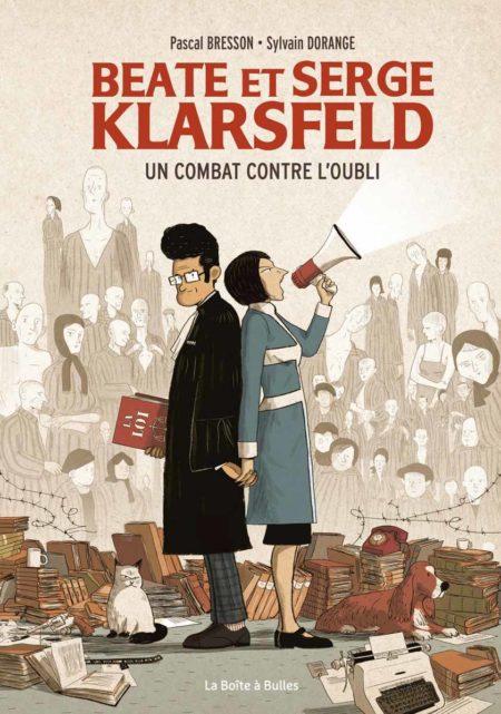 Beate et Serge Klarsfeld – Pascal Bresson et Sylvain Dorange