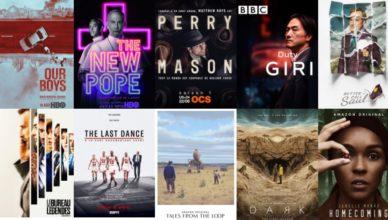 Les meilleures séries pour la première moitié 2020