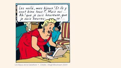 Les Aventures de Tintin Les Bijoux de la Castafiore d'Hergé