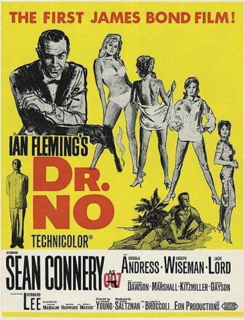 James Bond Dr No Affiche