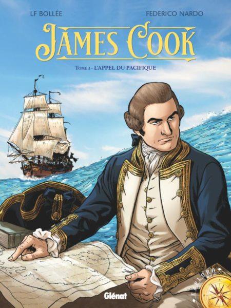 James Cook, T.1 - L'appel du Pacifique — Laurent-Frédéric Bollée & Federico Nardo