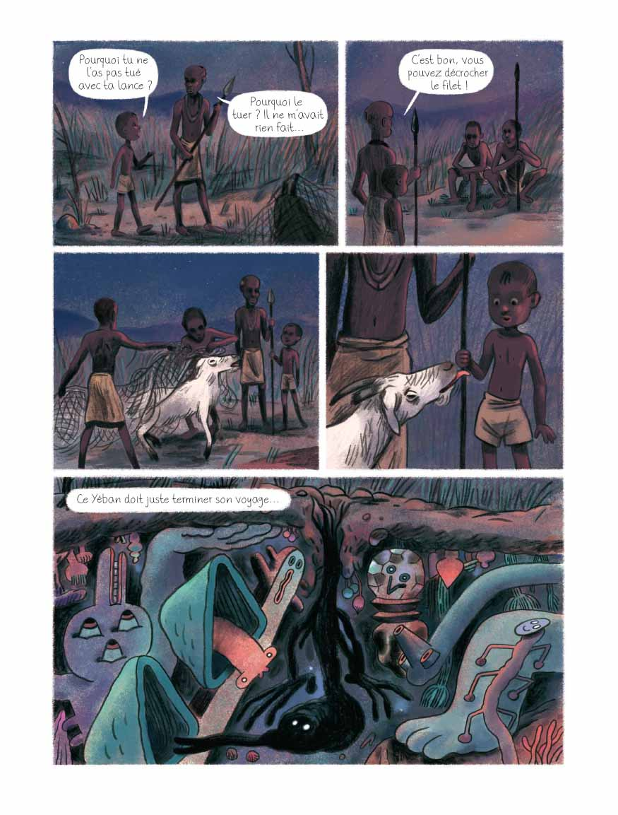 Le Repas des hyènes – Aurélien Ducoudray & Mélanie Allag