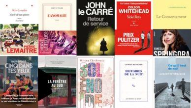 sélection romans 2020