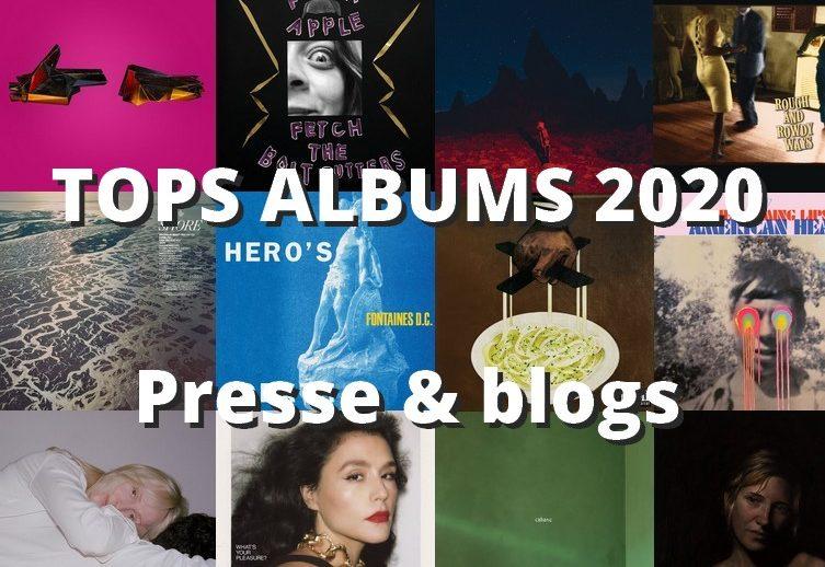 tops albums 2020 presse et blogs