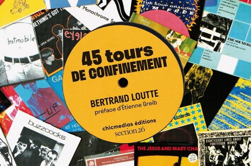 """45 tours de confinement"""" par Bertrand Loutte"""