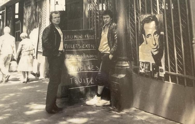 Pierre Marcelle et Hervé Prudon vers 1980