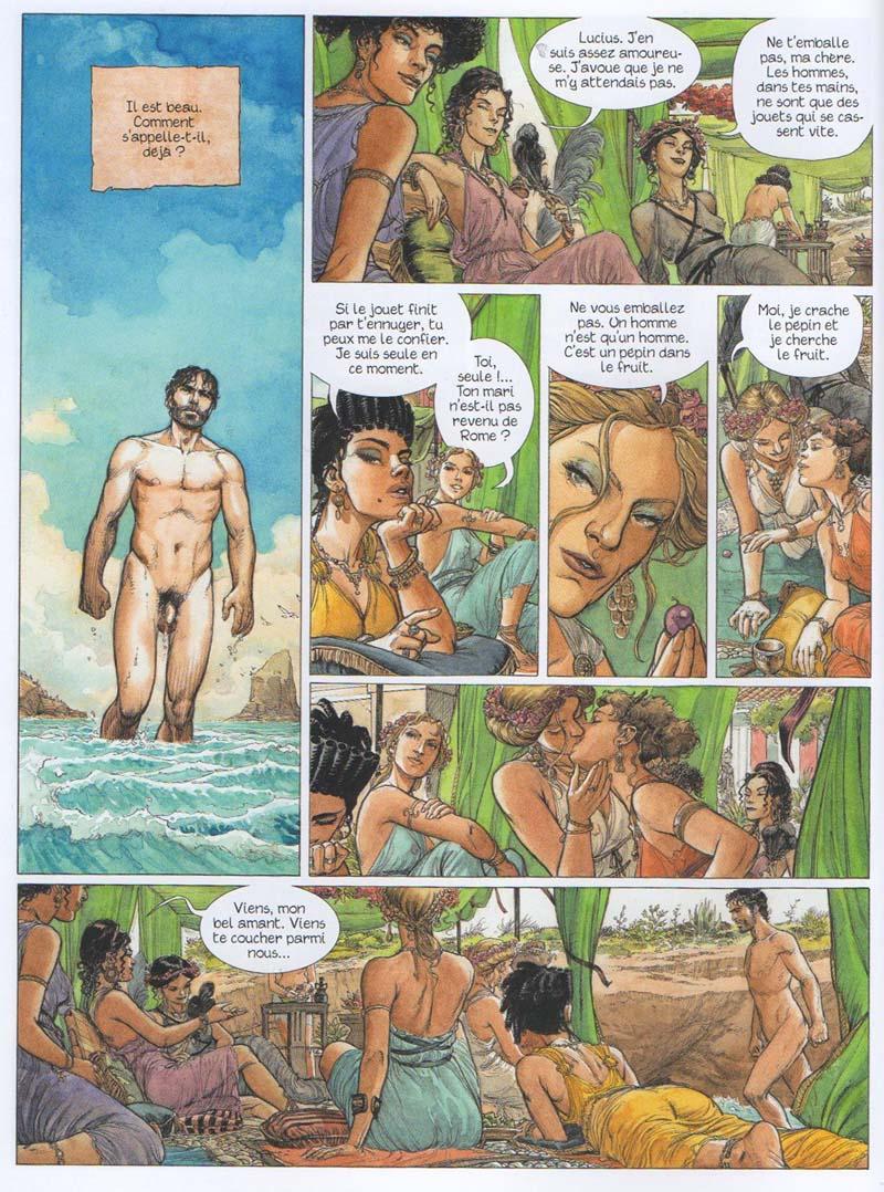 Murena, chapitre 11 : Lemuria - Jean Dufaux & Theo Caneshi