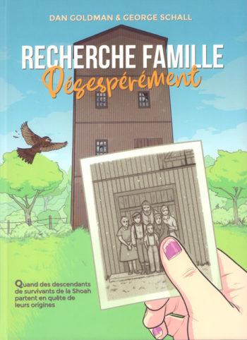 Recherche famille désespérément couverture