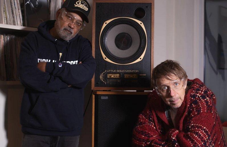 Bluey et Gilles Peterson