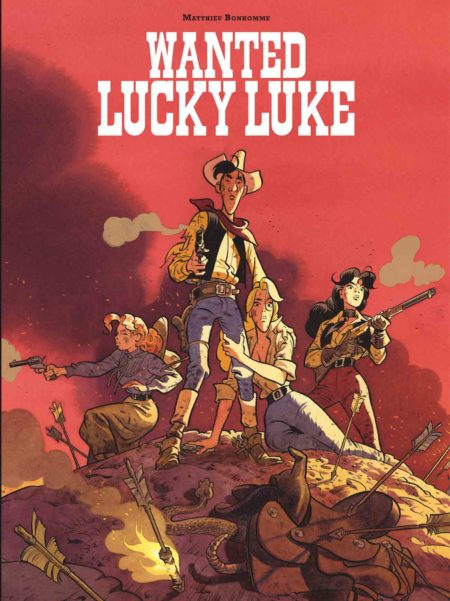Wanted Lucky Luke - Matthieu Bonhomme