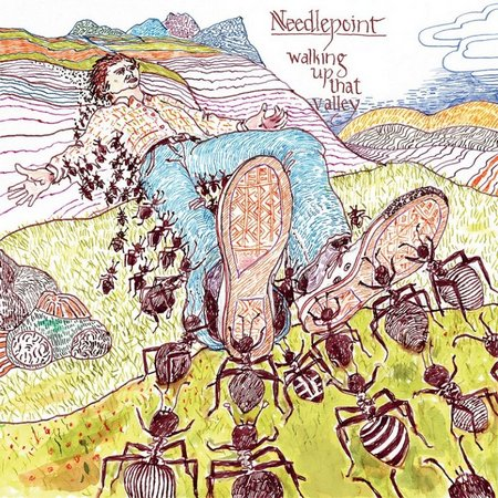 Needlepoint - Walking Up That Valley