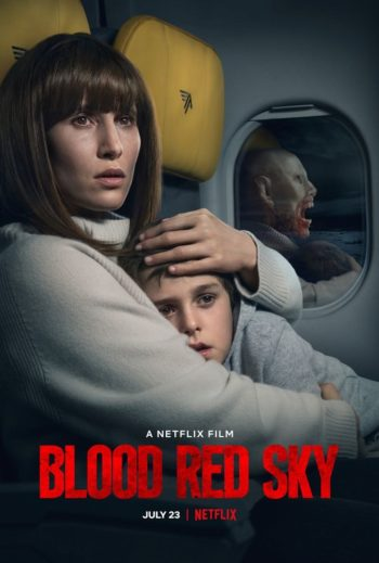 Blood Red Sky Affiche