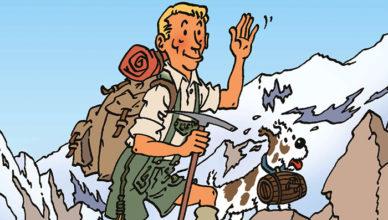 Hergé au sommet