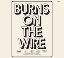H-BURNS & The Stranger Quartet–Burns On The Wire