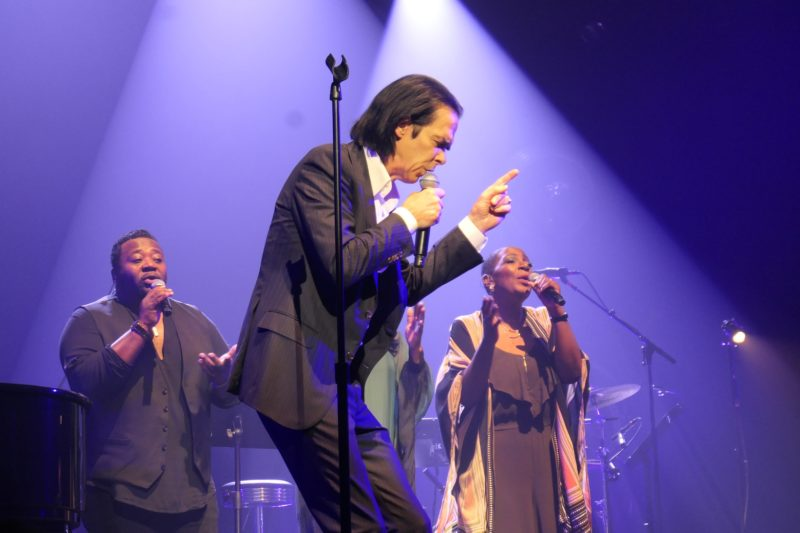 2021 10 12 Nick Cave & Warren Ellis Salle Pleyel