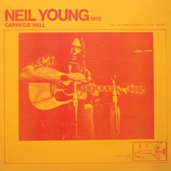 Neil Young Carnegie Hall 1970 pochette